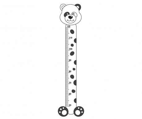 Nalepka z merilom višine za otroke Plush O Meter