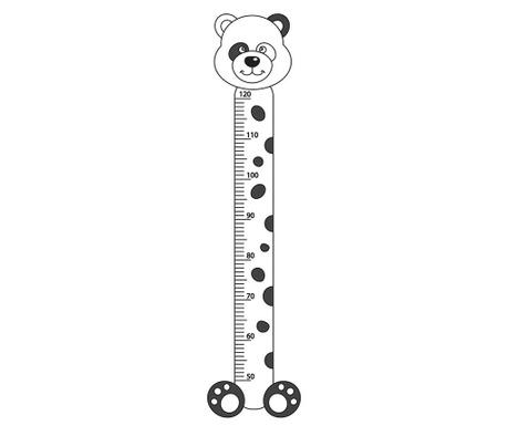 Samolepka na meranie detí Plush O Meter