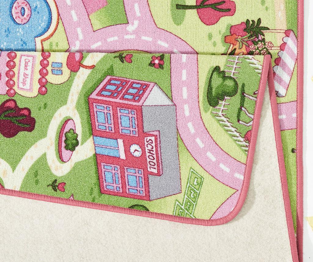 Tepih za igru Sweet Town Pink 140x200 cm