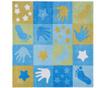 Preproga Hands Patchwork 100x100 cm