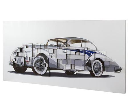 Classic Car 3D Effect Kép 70x140 cm