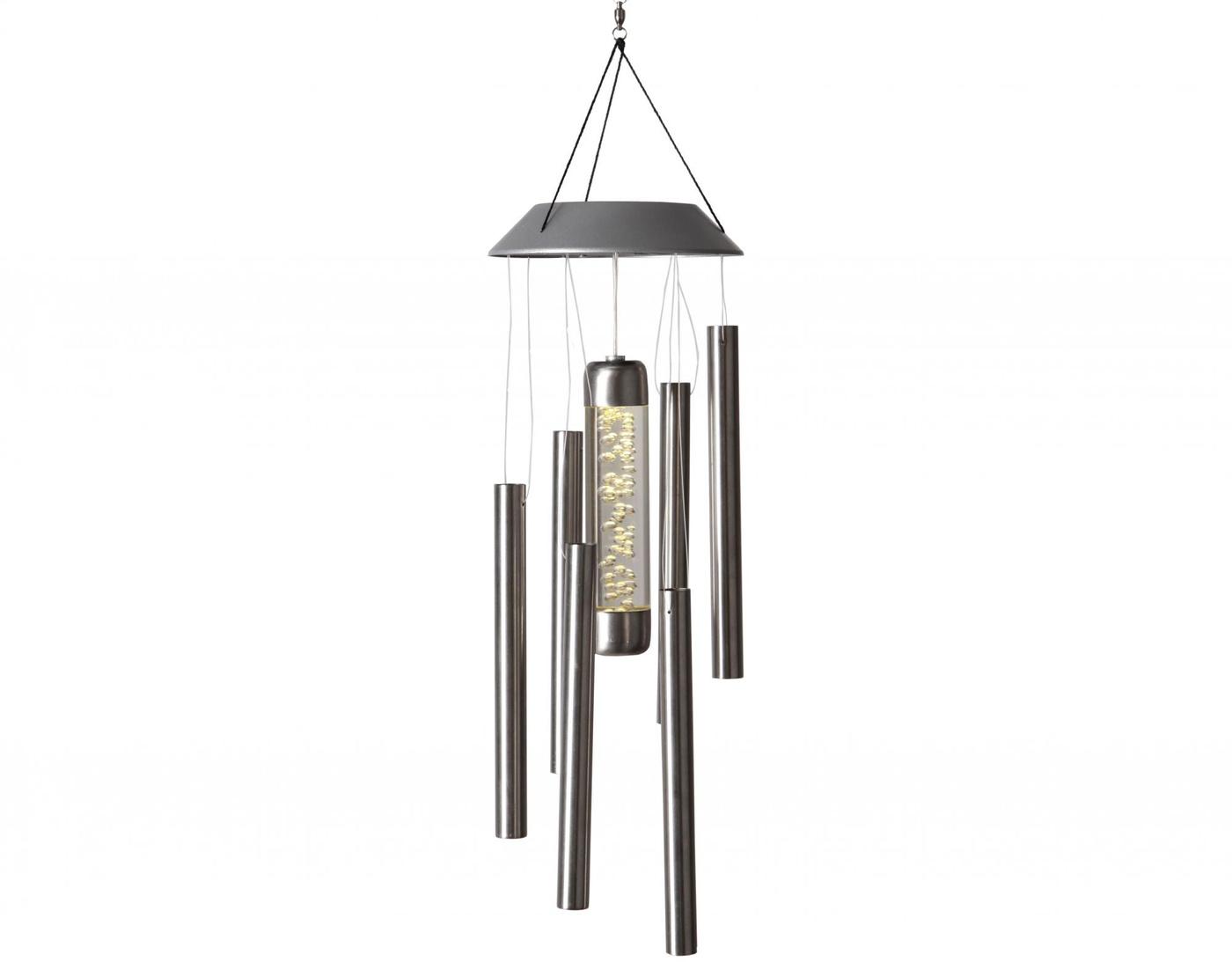 Lampa solarna z dzwonkami wietrznymi Chime