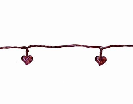 Ghirlanda luminoasa Heart Red