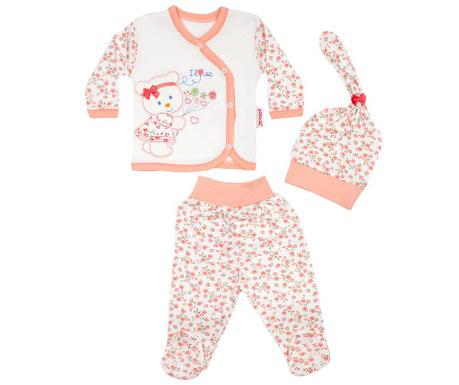 514cb2a787c Комплект бебешки дрехи 3 части Bear Peach 0-3 месеца - Vivre.bg