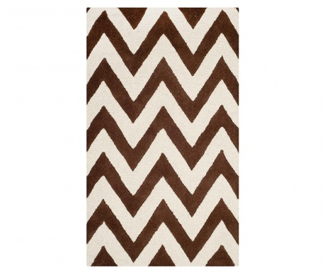 Tepih Stella Dark Brown Ivory