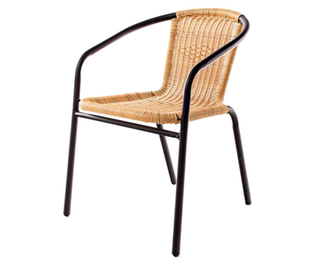 Stolica za vanjski prostor Braid Dark