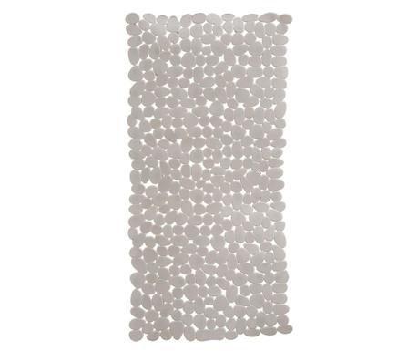 Preproga za v kad Pebble Solid Grey 36x69 cm