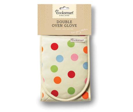 Color Baubles Dupla konyhai fogókesztyű