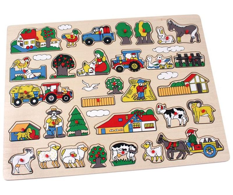 Joc tip puzzle Large Farm