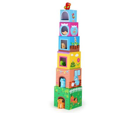 Строителен комплект 12 части Building Blocks