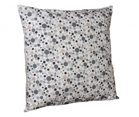 Perna decorativa Polka Dots Chic Grey 40x40 cm