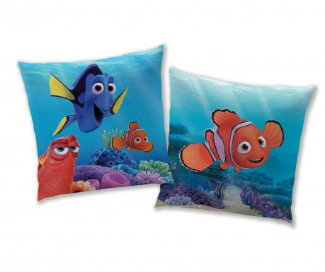 Disney Nemo Dory Díszpárna 40x40 cm