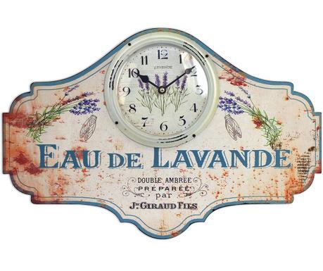 Wall clock Eau de Lavande