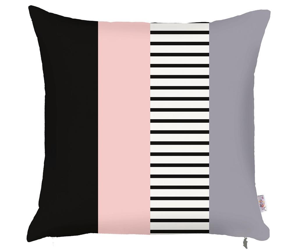Fata de perna Stripe Pink 43x43 cm