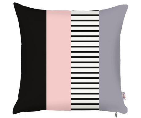 Prevleka za blazino Stripe Pink 43x43 cm