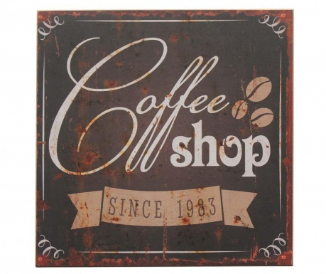 Coffee Shop Fali dekoráció