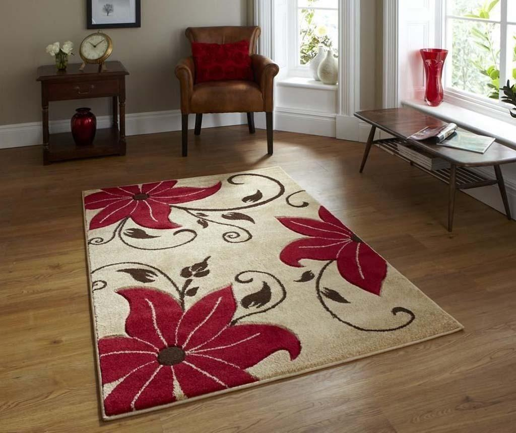 Tepih Verona Beige Red 80x150 cm