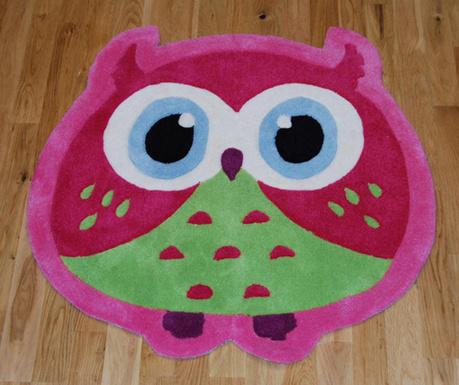 Owl Pink Szőnyeg 80x80 cm