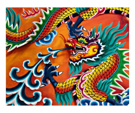Dragon Tapéta 160x200 cm