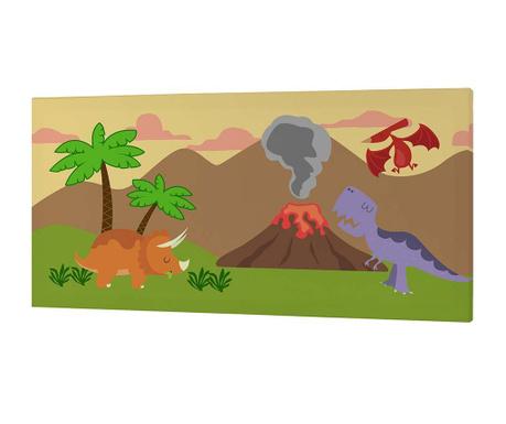 Картина Dino Land 27x53 см