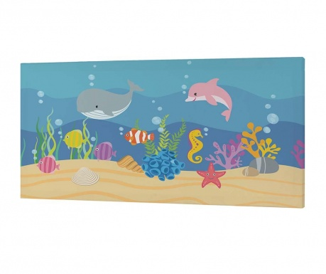 Tablou Under the Sea 27x53 cm