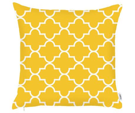 Poszewka na poduszkę Amina Yellow 43x43 cm