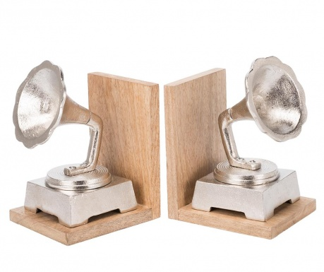 Комплект 2 поставки за книги Gramophone