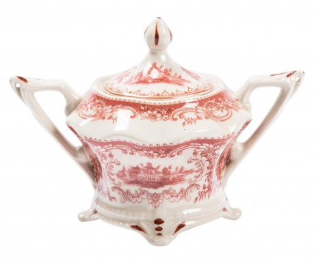 Sugar basin Palace Line Red