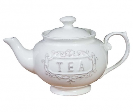Teapot White Lace