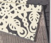 Koberec Lace Grey and Cream 80x150 cm