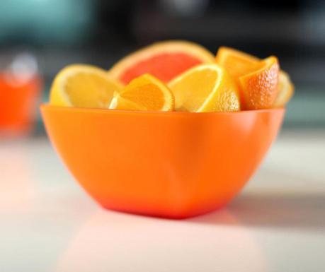 Skleda Livio Pure Orange 400 ml