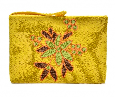 Envelope bag Yellow in Bloom