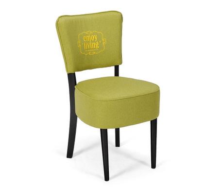 Scaun Nisa Lime Braided Classic