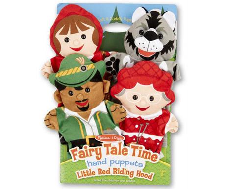 Set 4 lutke za ruku Little Red Riding Hood