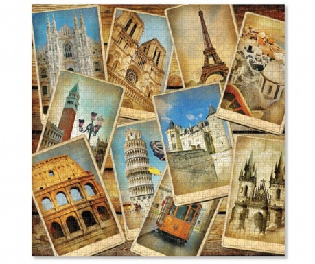 Puzzle 1000 elementów Europe