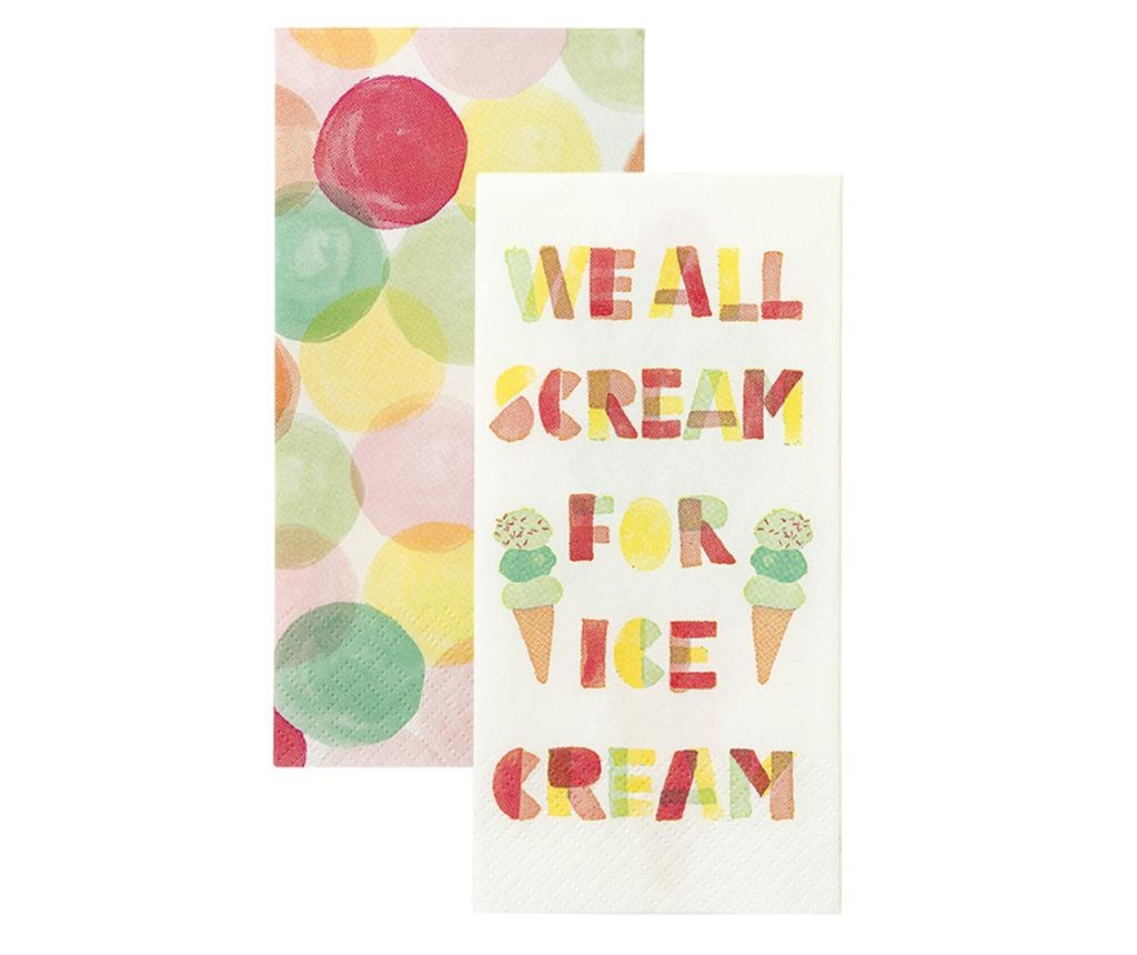 We Love Ice Cream 20 db Szalvéta