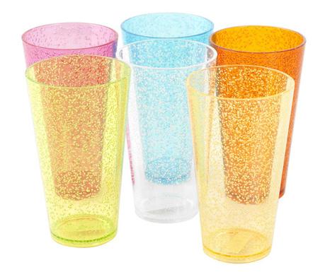 Zestaw 6 szklanek Tumbler 600 ml