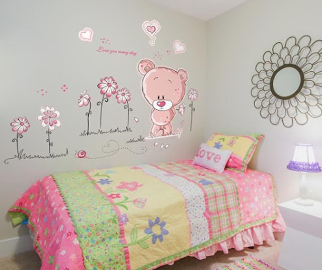 Samolepka Pink Teddy Bear