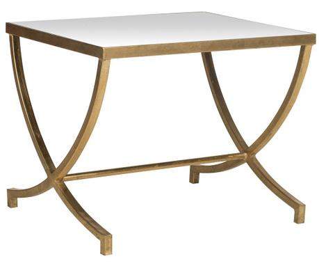 Moore Accent Gold Mirror Asztalka