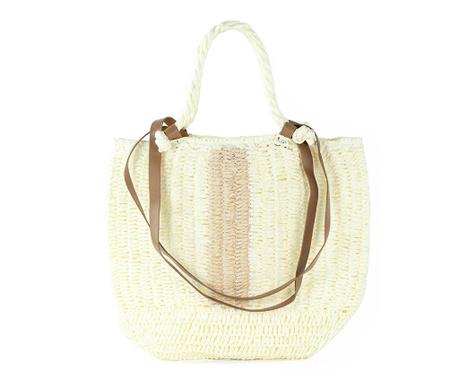 Plážová taška Amanda Cream