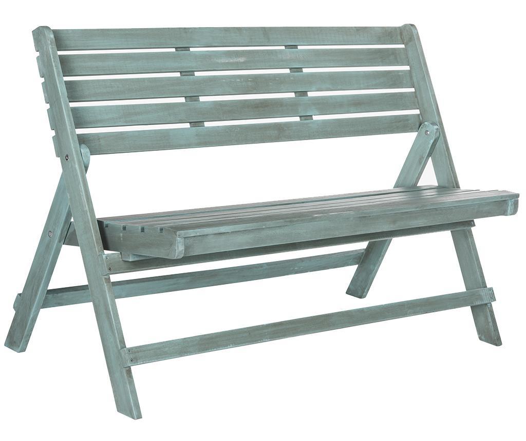 Сгъваема пейка за екстериор Ferrat Blue