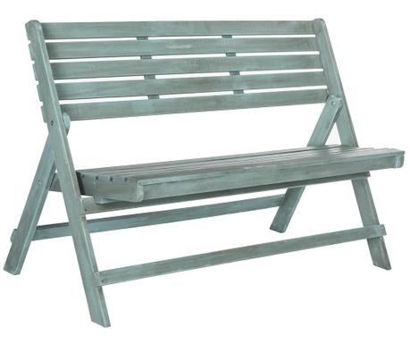 Skladacia záhradná lavička Ferrat Blue