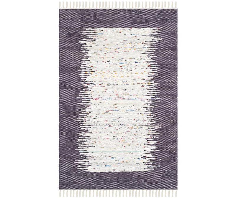 Covor tip pres Saltillo Ivory Purple 90x150 cm
