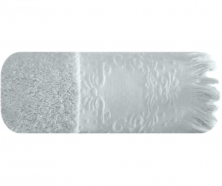 Kopalniška brisača Emily Silver 70x140 cm