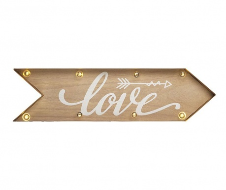 Lighting wall decoration Love Sign