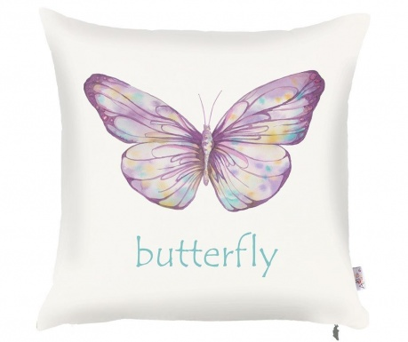 Fata de perna Long Butterfly 43x43 cm