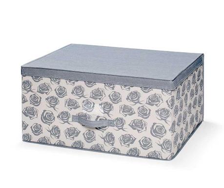 Κουτί με καπάκι για αποθήκευση Roses L