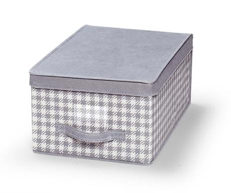 Κουτί με καπάκι για αποθήκευση Check
