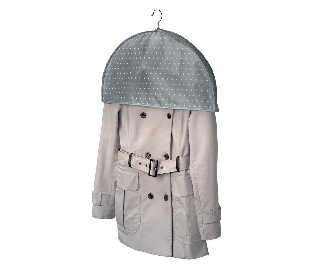 Husa de protectie pentru umeri Grey Dots