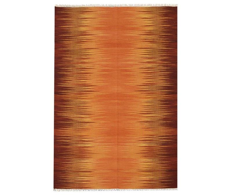Koberec Kilim Modern Orange 60x90 cm
